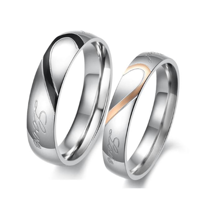 Mua trang sức bạc nhẫn đôi tại MTJ Shop
