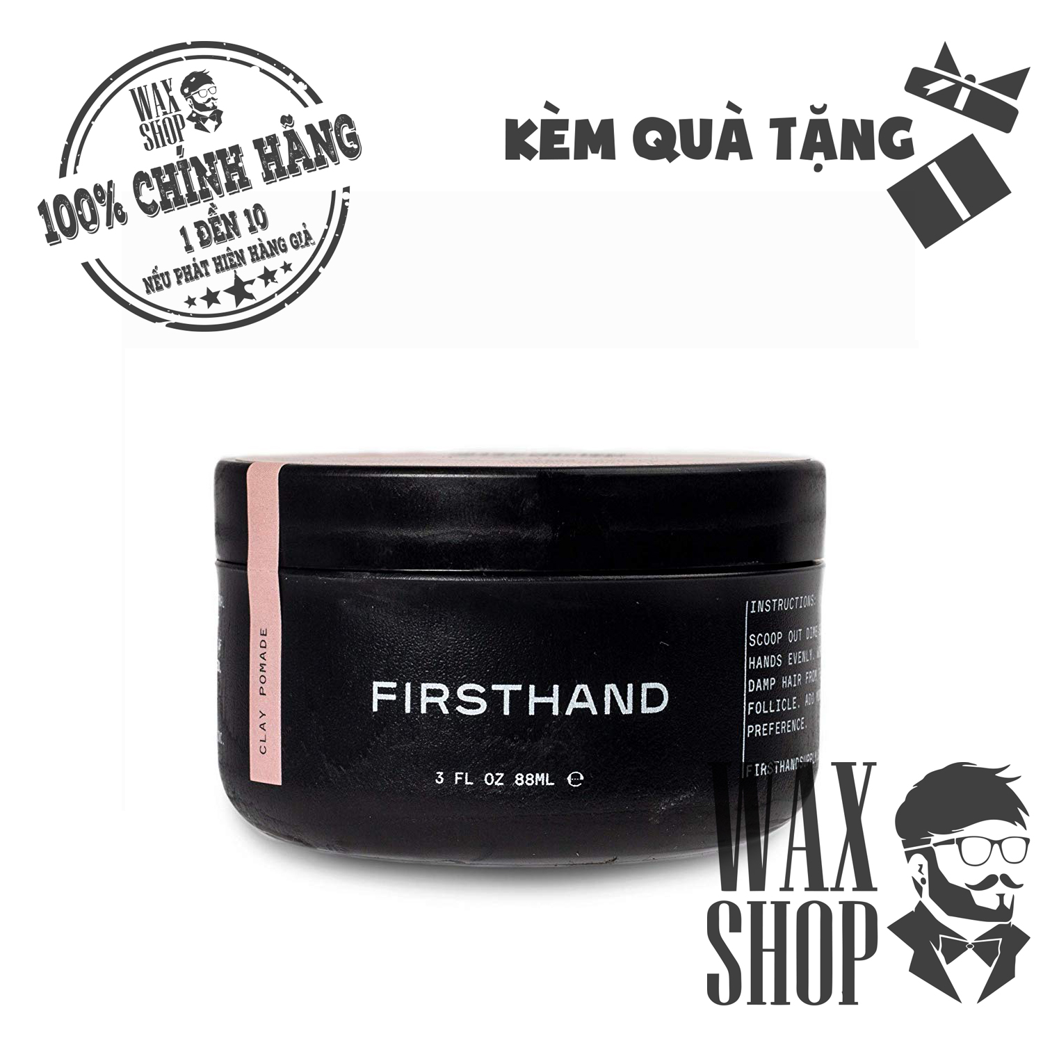Clay Pomade - Firsthand Supply