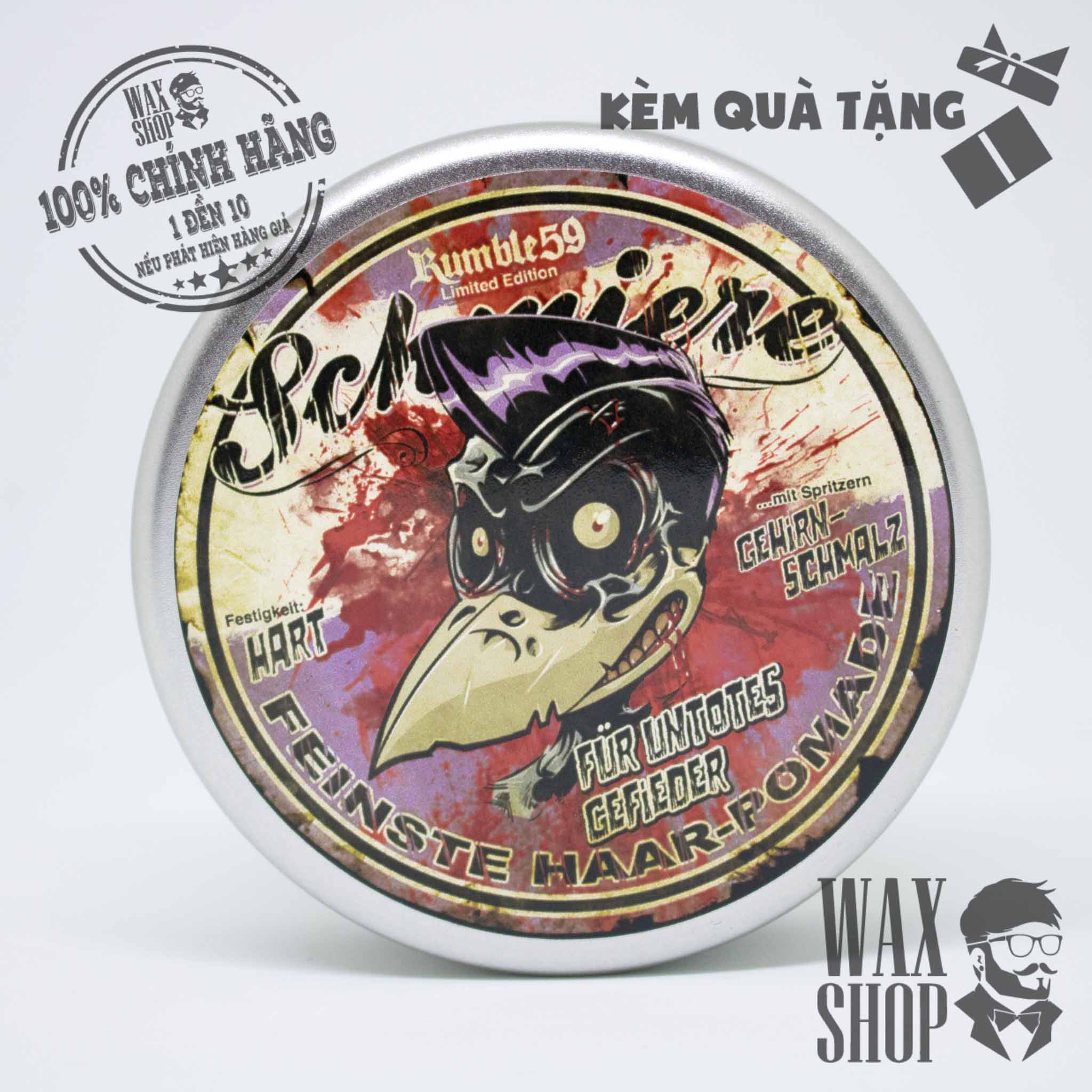 Pomade Special Edition Zombie - Schmiere