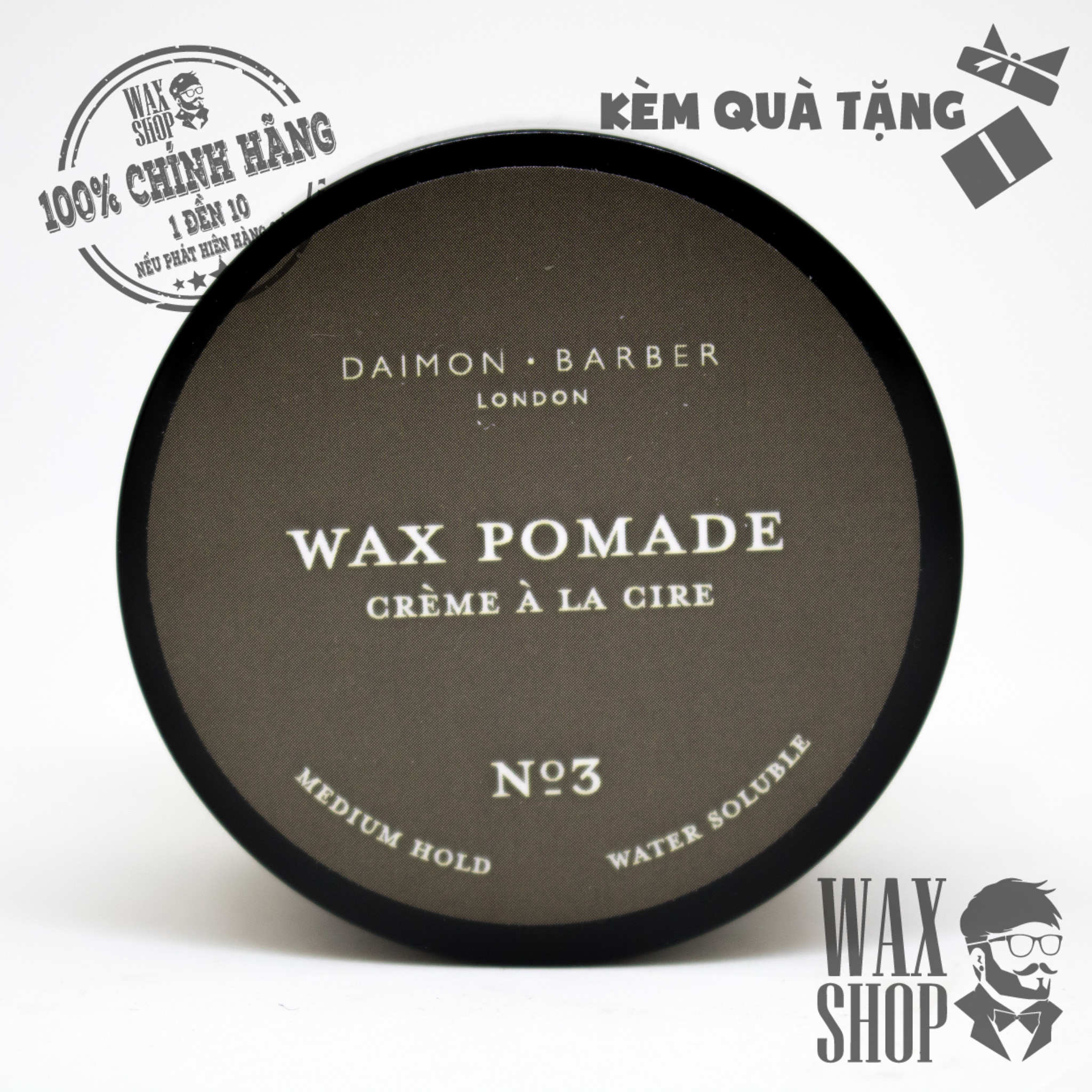 Wax Pomade - Daimon Barber