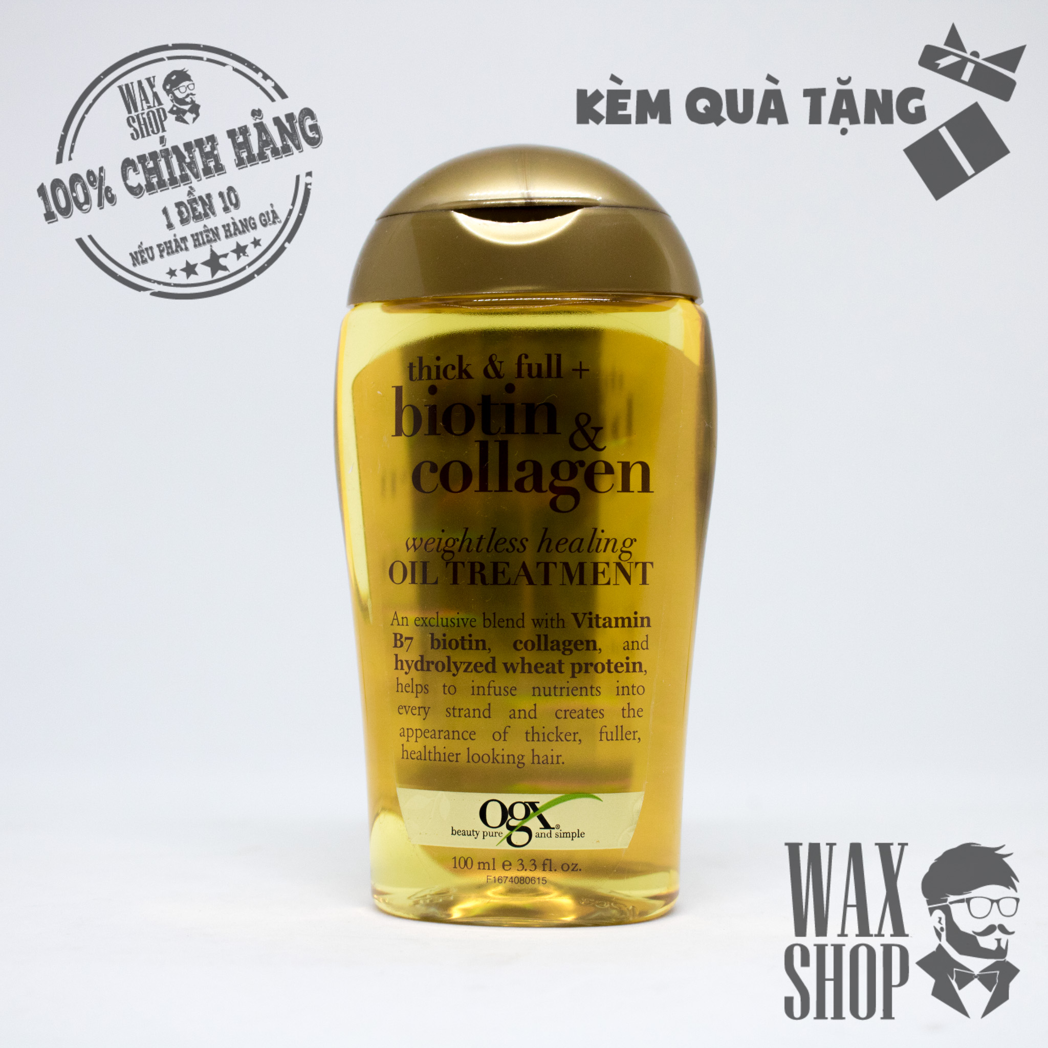 Biotin & Collagen Oil Treatment