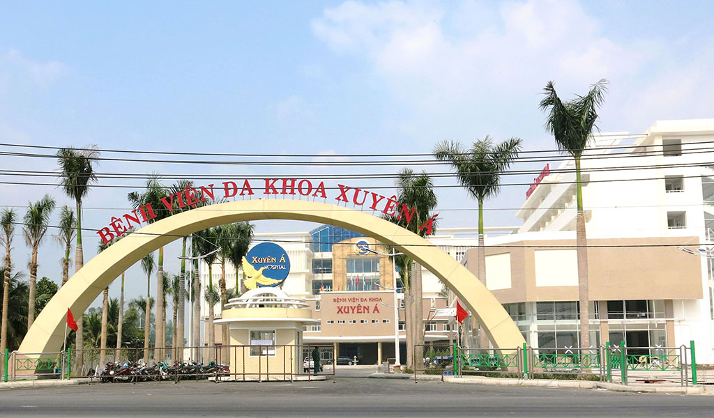 Construction of Xuyen A  hospital