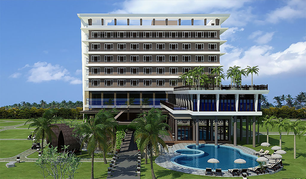 Construction of Four Season Resort & Spa Phu Quoc Hotel