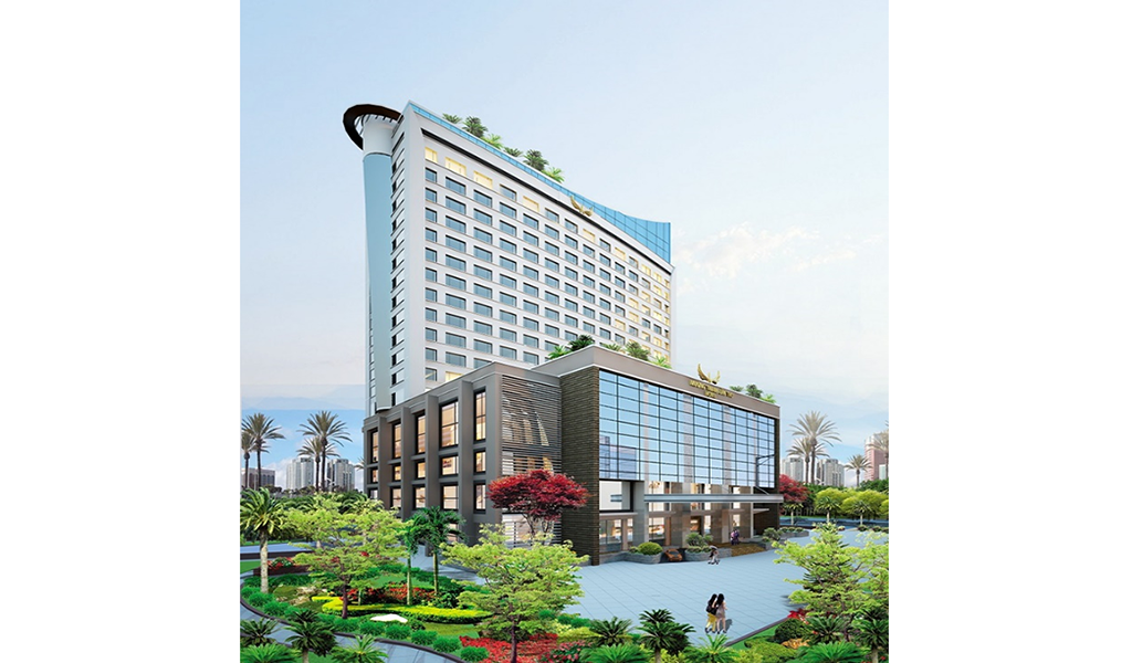 Construction of 5 star Muong Thanh Can Tho Hotel