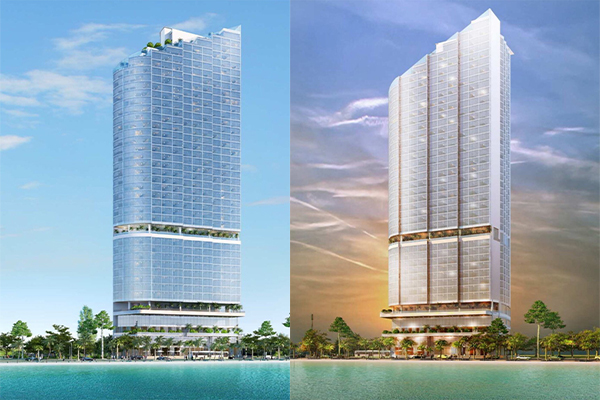 Construction of THE HOTEL HORIZON Nha Trang
