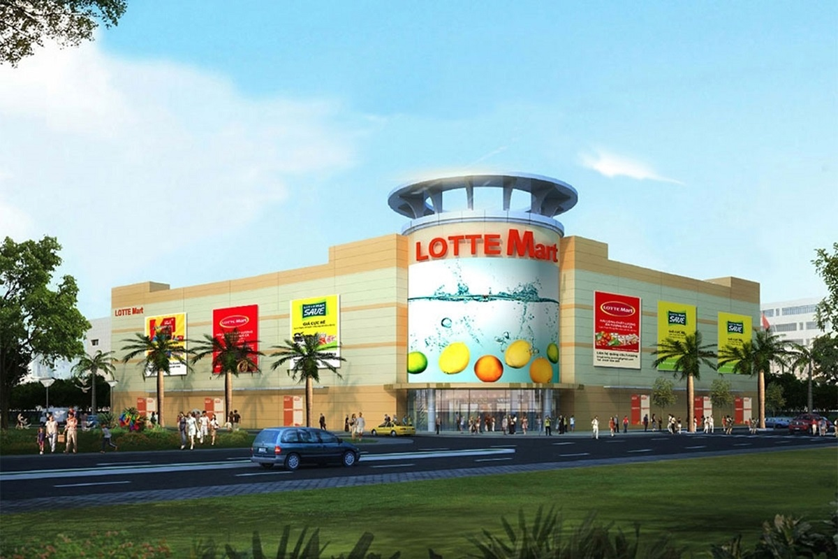 Construction of Lotte Trade Center, Supper Market Categories, Nha Trang city, Khanh Hoa Province