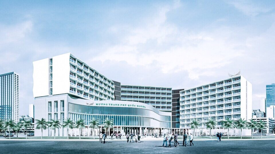 Construction of five star Muong Thanh Phu Quoc Hotel