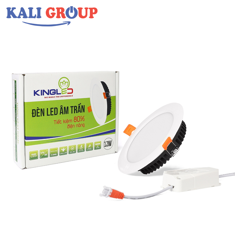 Đèn LED downlight DL-12-T140