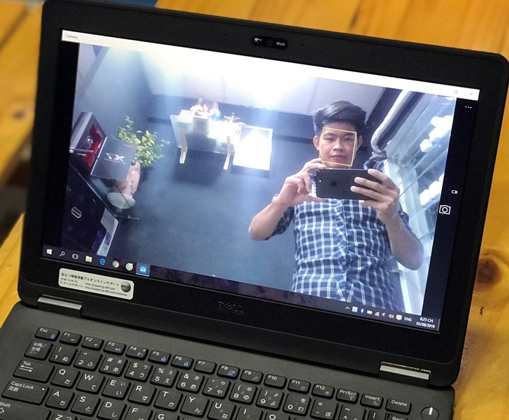 webcam Dell latitude e7270
