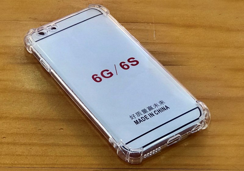 Ốp lưng dẻo trong suốt iphone 6 - iphone XSMax