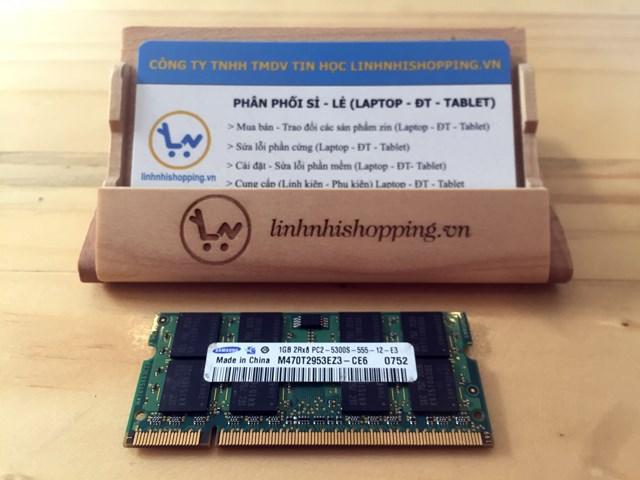 Ram DDR2 laptop 1gb SAMSUNG (6 tháng bảo hành)