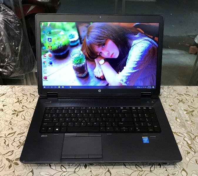 Laptop HP Zbook 17 (CORE i7 4600M, DDR3L 16GB, SSD 256GB + HDD 320GB, 17.3INCH FULL HD 1920X1080, VGA K610M)