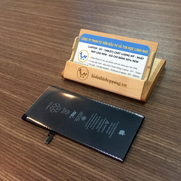 Thay pin iphone 6 plus (pin zin - bảo hành 06 tháng)