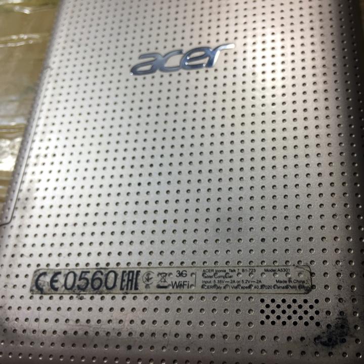 Thay kính cảm ứng Acer iconia B1-723 (Model A5301)