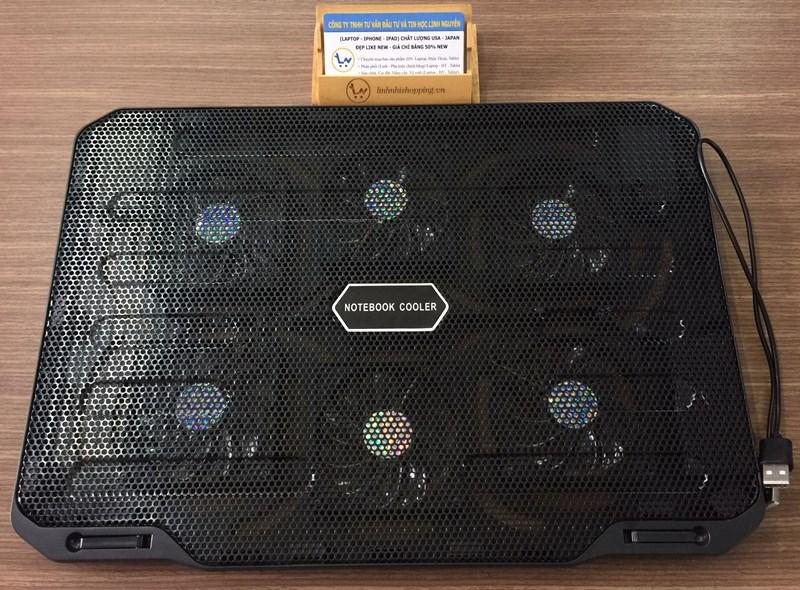 Tản nhiệt laptop Cooler Pad M6 (6 Quạt)