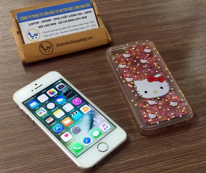 iphone 5s Gold 16gb quốc tế Nguyên Zin