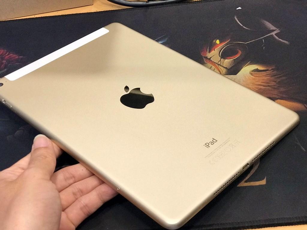 iPad Air 2 (Wifi + 4G) 16GB, Màu Vàng, Vỏ Zin Đẹp 97%, Zin Tốt Mọi Chức Năng