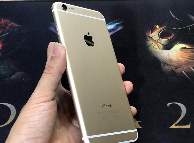 iPhone 6 Plus, Màu vàng (Gold), Dung lượng 64GB, Quốc tế LL/A, Đẹp 99% Like New