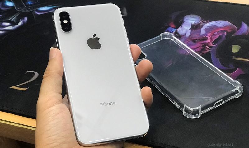 iPhone X Quốc tế, 256gb, Màu trắng, Zin ngon, Phụ kiện chính hãng