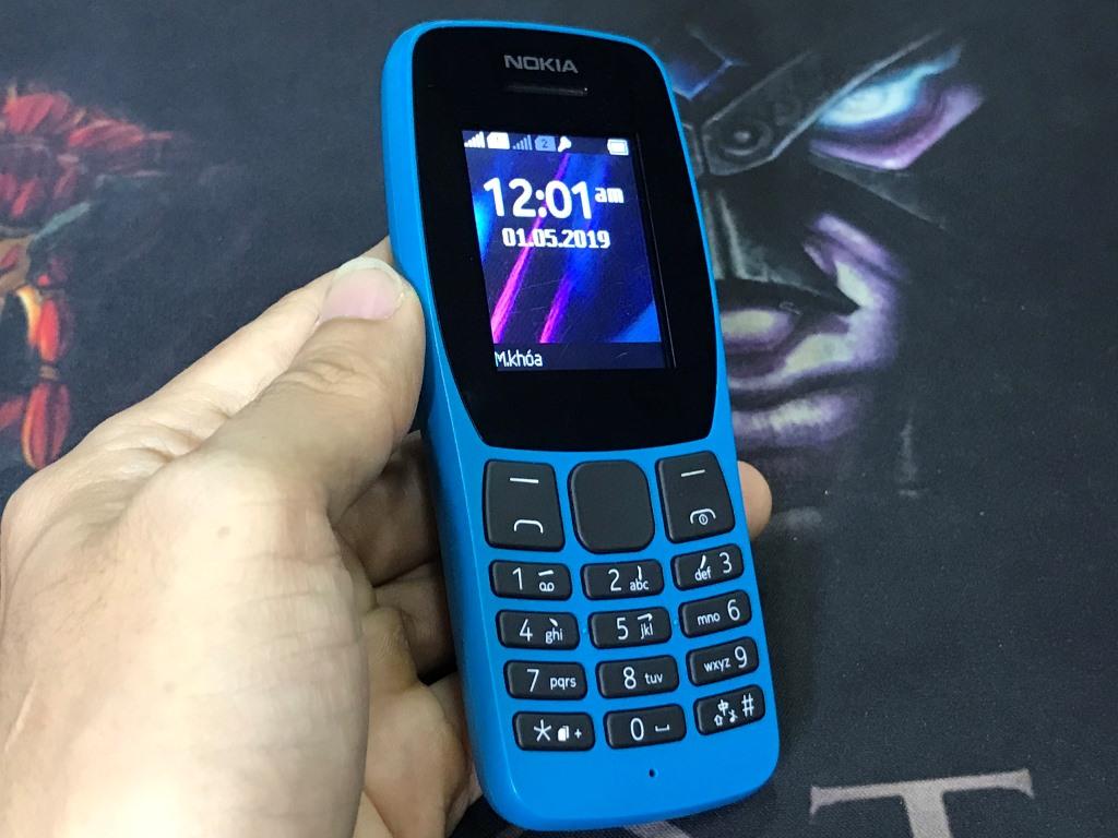 Nokia 110 2019 (2 Sim) Radio FM, Game mini, Nghe Nhạc - Xem Video, Chụp Hình - Quay Phim, Ngoại Hình 98, Zin Tốt Mọi Thứ