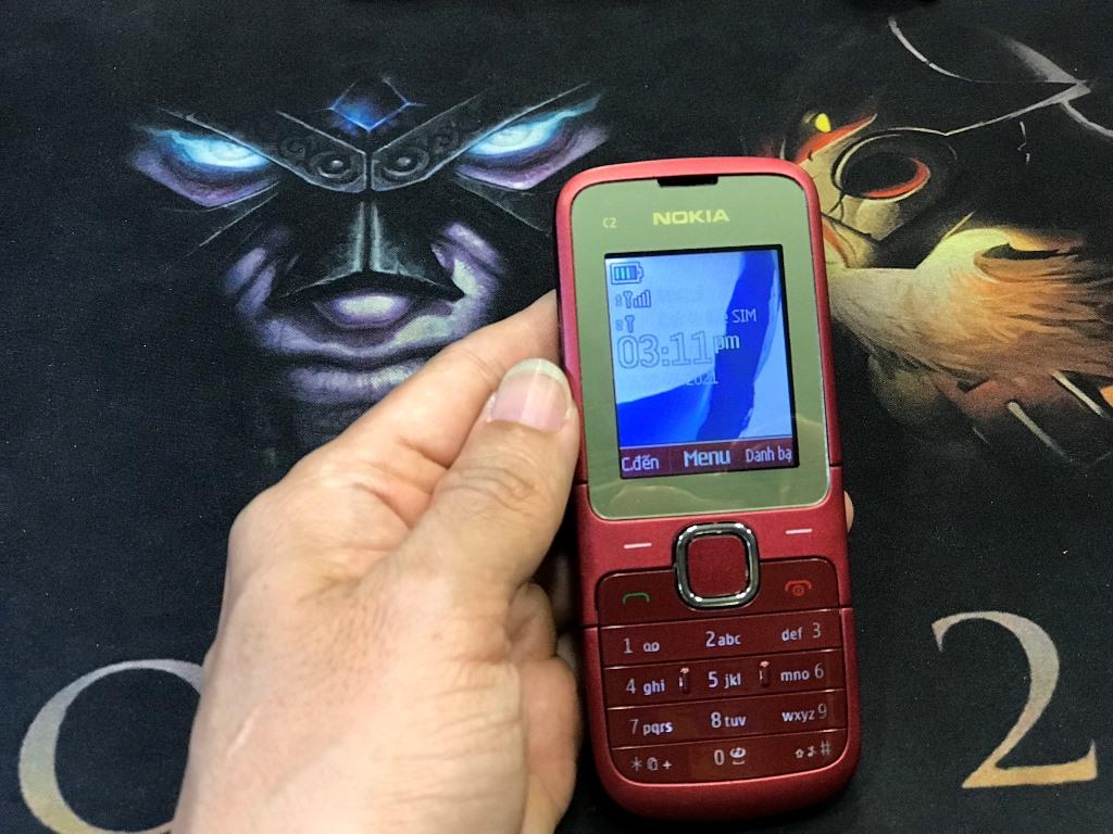 Nokia C2-00 (2 Sim) Màn Hình Màu, Nghe Nhạc - Xem Video, Chụp Hình, Internet