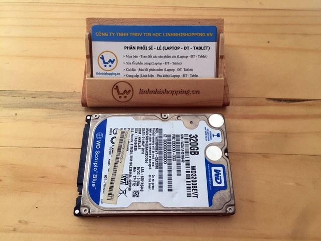 Ổ cứng laptop 320gb hiệu Western (12 tháng bảo hành)