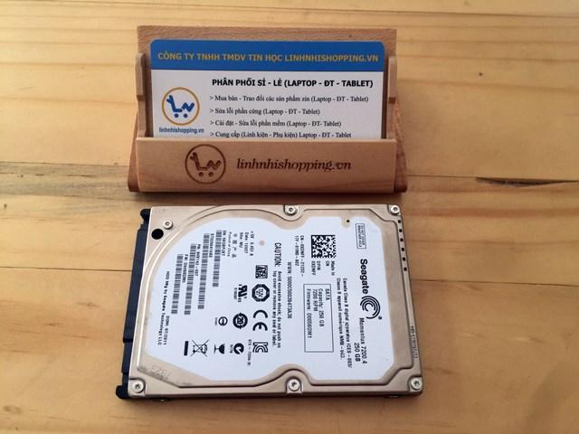 Ổ cứng laptop 250gb hiệu Seagate (12 tháng bảo hành)