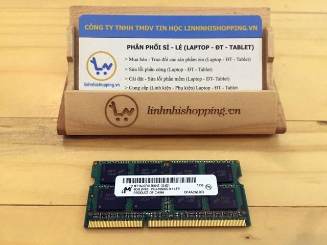Ram DDR3 laptop 4gb MICRON (12 tháng bảo hành)