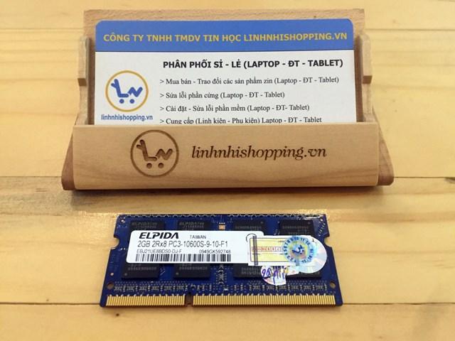 Ram DDR3 laptop 2gb ELPIDA (12 tháng bảo hành)