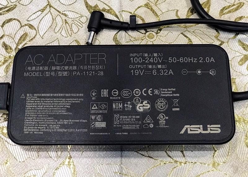 Sạc laptop Asus Gaming 120W Zin Bóc Máy 19V-6.32A