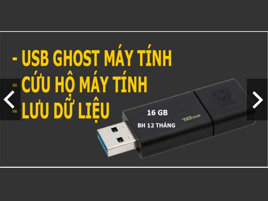 USB (16gb - 32gb) Ghost Laptop và Desktop, Chia Ổ Cứng, Cứu Dữ Liệu, Phá Mật Khẩu Window