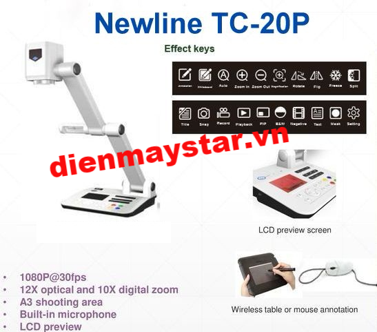 may-chieu-vat-the-newline-tc-20p.