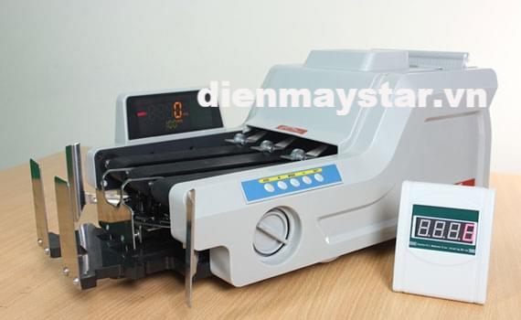 Máy đếm tiền giá rẻ chính hãng Silicon MC-8800