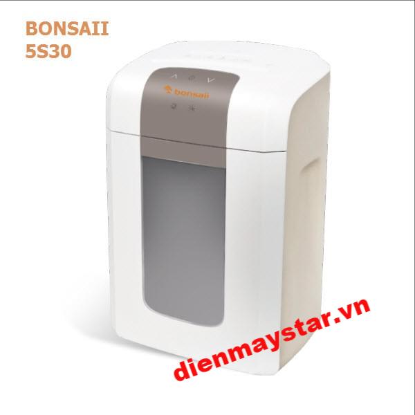 Máy hủy tài liệu Bonsaii 5S30