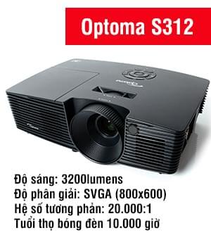 Máy chiếu Optoma S312