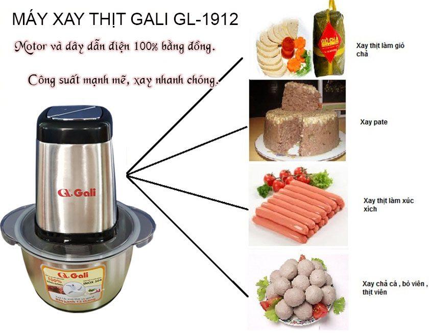Máy xay thịt GL-1920 xay thịt, cá, các loại hạt...