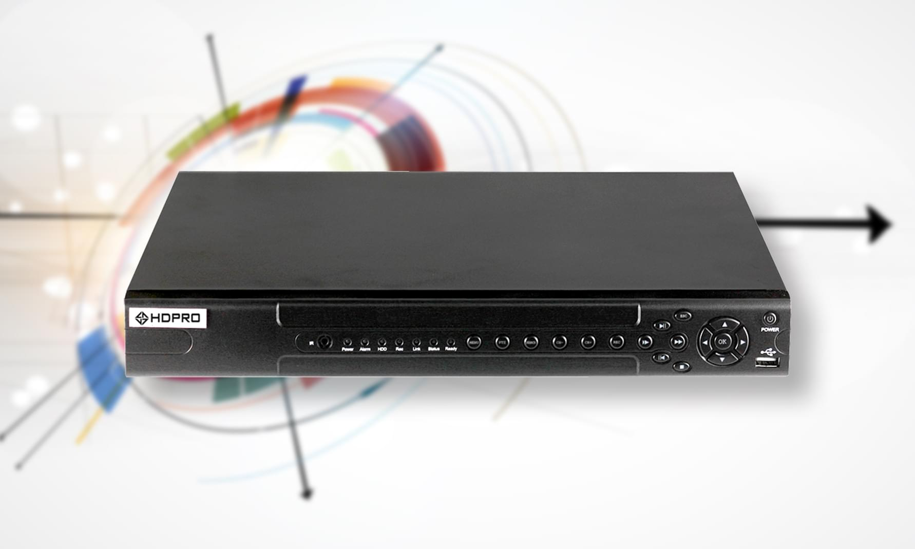 Đầu ghi hình 32 kênh AHD 1080N HDP-5300AHD-M