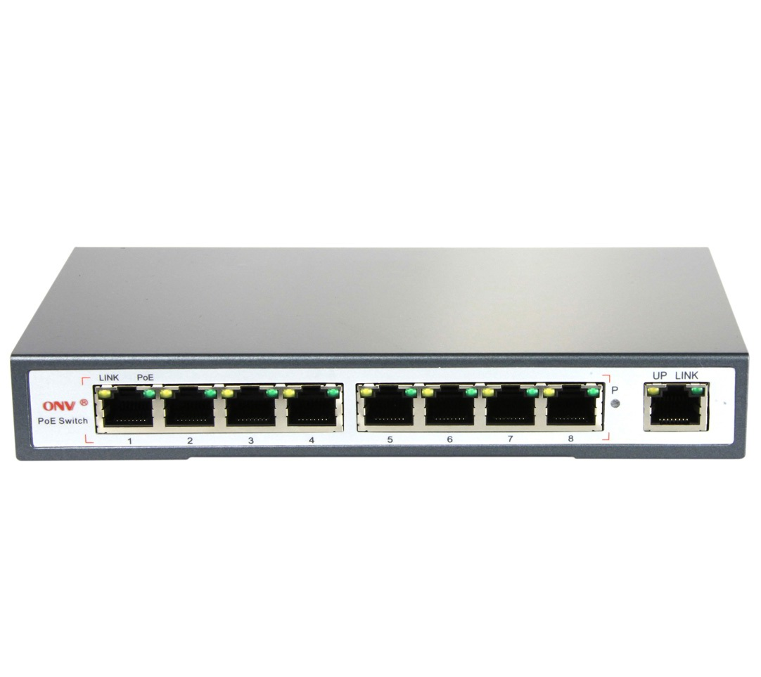 UNIVIEW Switch POE 8 cổng BT-6009FE