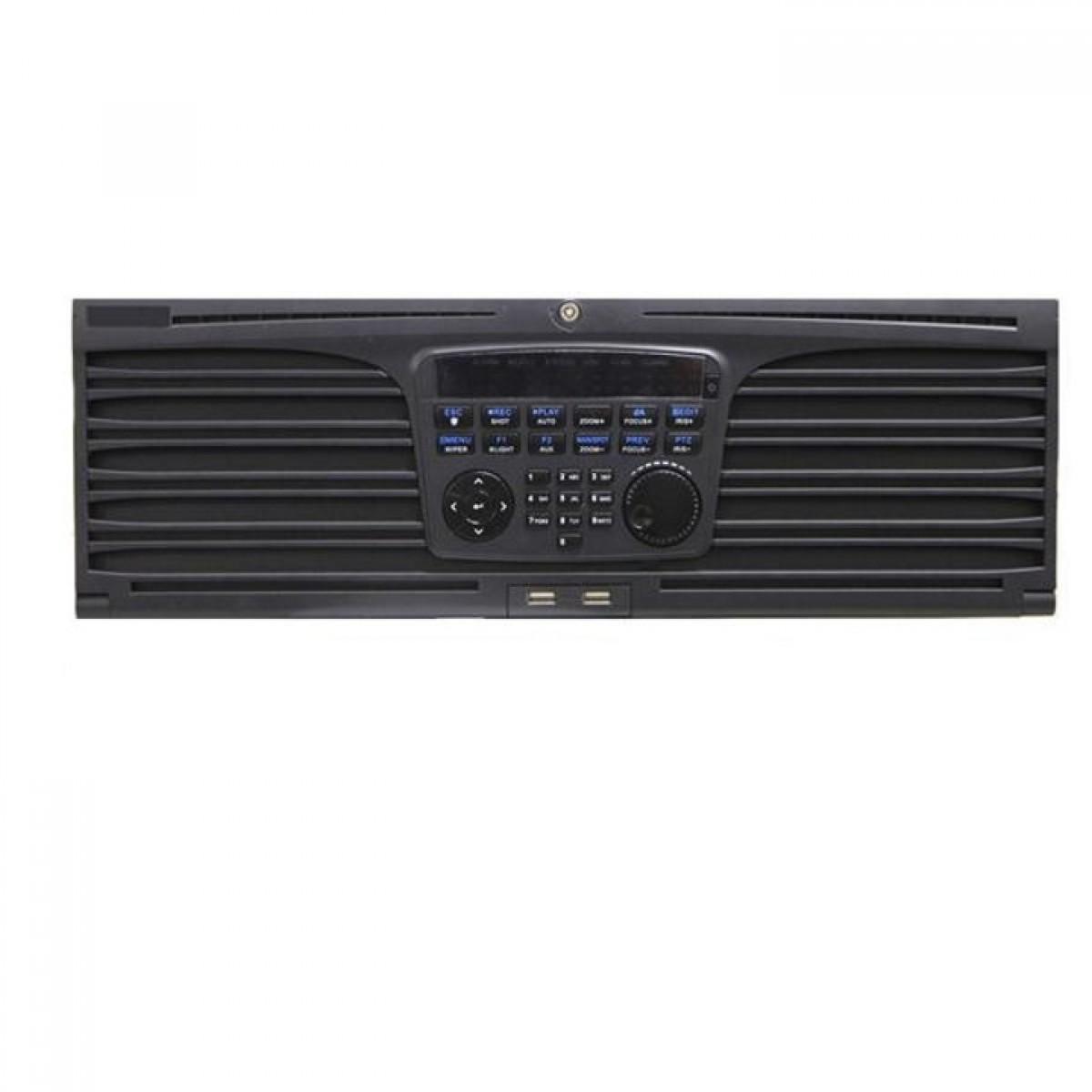 Đầu ghi hình IP camera 64 kênh - hỗ trợ 16 ổ cứng SATA Hikvision DS-9664NI-I16