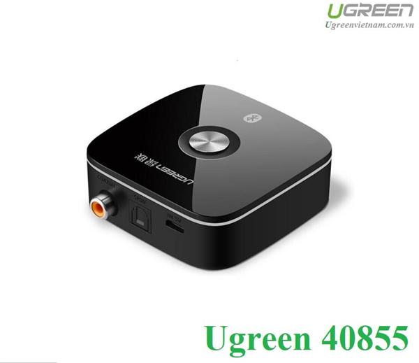 Bộ nhận Bluetooth 4.2 Music Receiver hỗ trợ Optical + Coaxial chính hãng Ugreen 40855 cao cấp