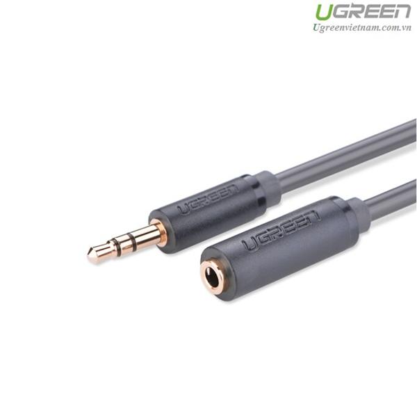 Cáp nối dài Audio 3.5mm dài 0,5m chính hãng Ugreen 10781