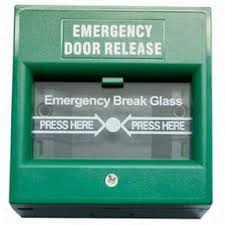 AR-BG - Break Glass ( Emergency Door Release ) - Applicable for Exit or Emergency door