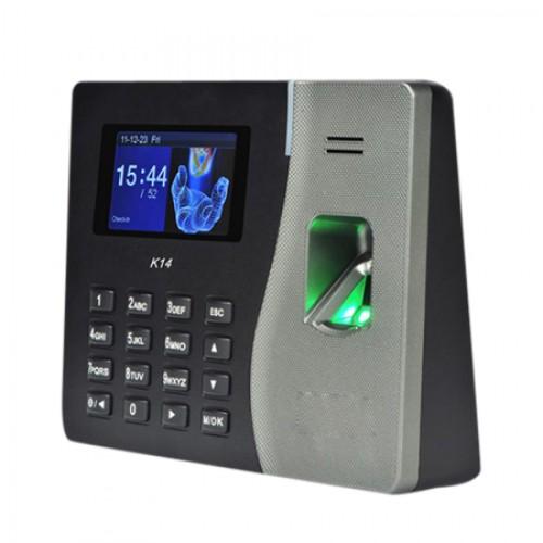 Máy chấm công vân tay và thẻ kết hợp kiểm soát cửa KOBIO K14