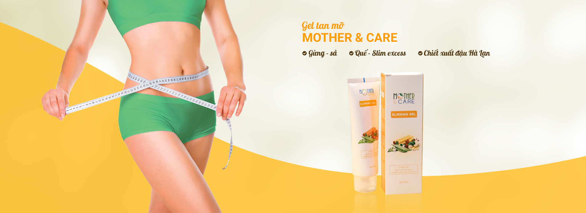 Gel tan mỡ Mother & Care