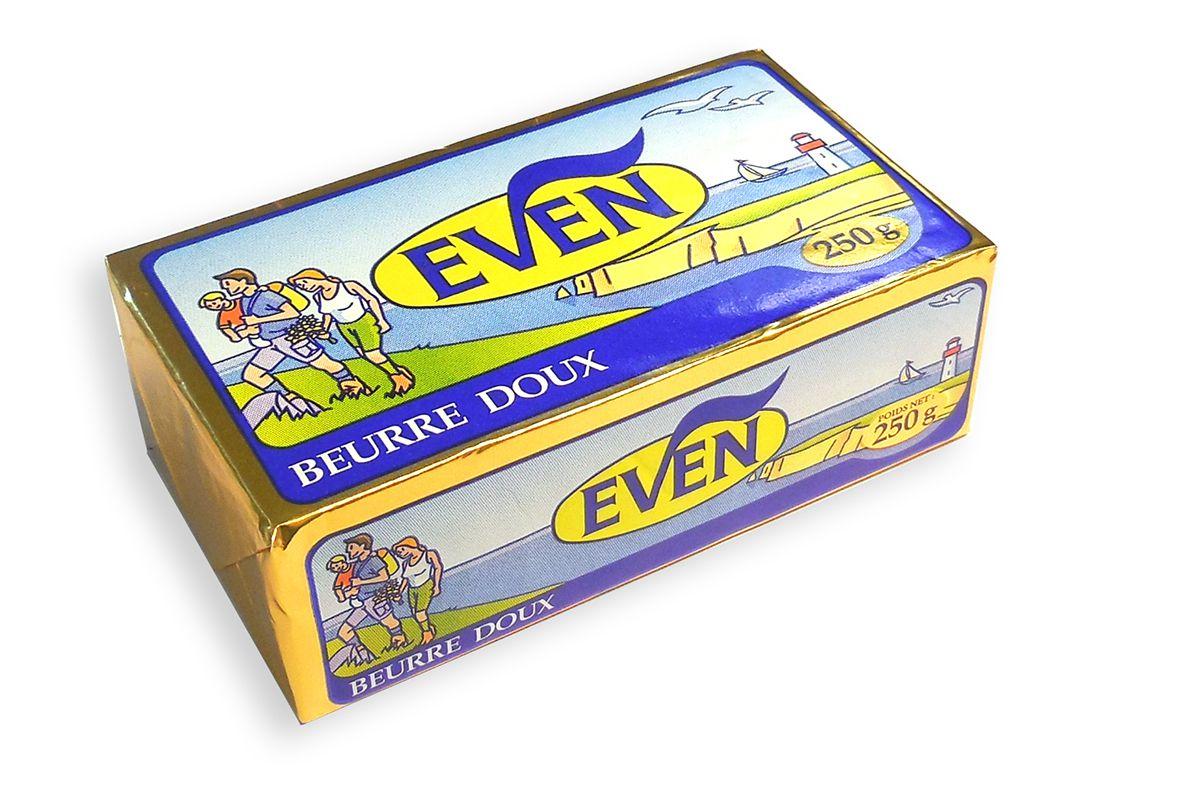 Phân phối bơ nhạt Even 250g