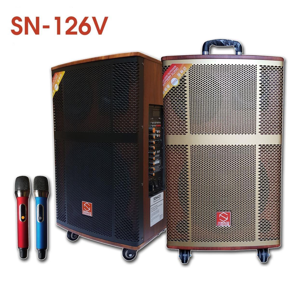 Loa kéo Sonaco 126V - Bass 30 có loa trung
