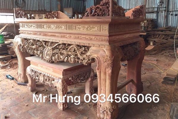 Sập thờ bằng gỗ