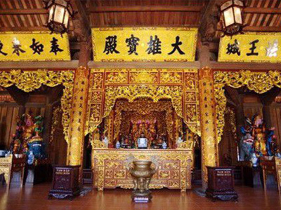 Nội thất không gian thờ cúng đẹp