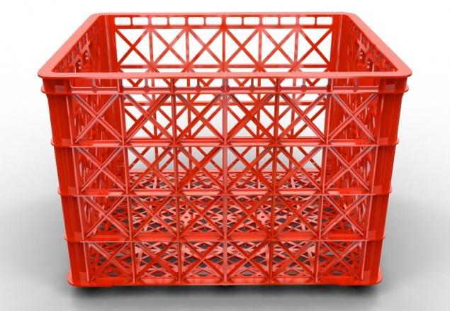 sóng nhựa công nghiệp có bánh xe