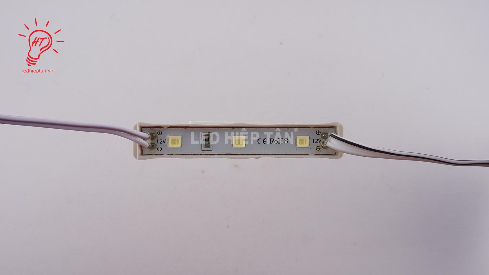 Module LED 4040 6409 3 LED Trắng - Led Hiệp Tân - Vật tư led
